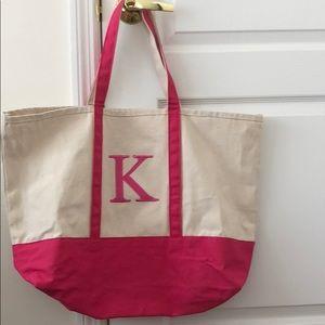 """Handbags - Large """"K"""" tote bag"""